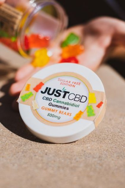 JustCBD Sugar Free Gummies picture