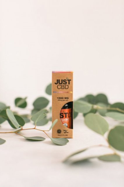 JustCBD Full Spectrum Tinctures